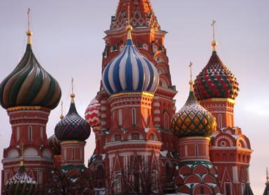 Rusia: Escapada a Moscú