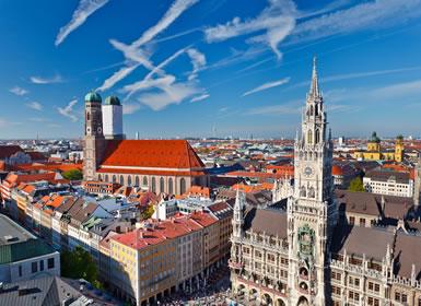 Alemania: Especial Semana Santa Munich al Completo