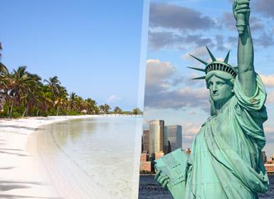 Circuito y Viajes Estados Unidos: Nueva York Riviera Maya