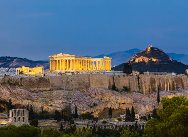Sur de Grecia con Peloponeso y Atenas Esencial