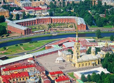 Rusia: San Petersburgo y Moscú Al Completo (Tren diurno)