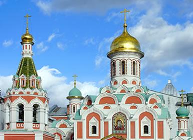 Rusia: San Petersburgo, Moscú y Anillo de Oro A Fondo Plus (Tren diurno)