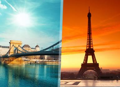 Praga, Viena, Venecia, Suiza y París A Fondo