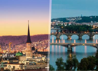 Viena y Praga Esencial A Tu Aire en tren
