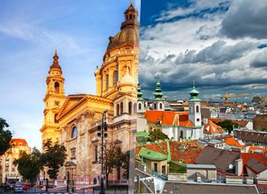 Viena, Praga y Budapest Al Completo A Tu Aire en tren