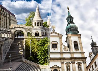 Praga, Budapest y Viena Al Completo A Tu Aire en tren