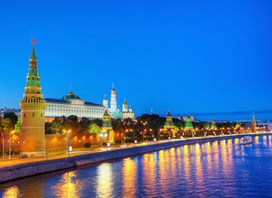 Rusia: Crucero de Moscú a San Petersburgo Al Completo