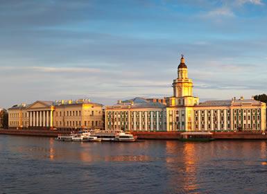 Rusia: Crucero de San Petersburgo a Moscú A Fondo