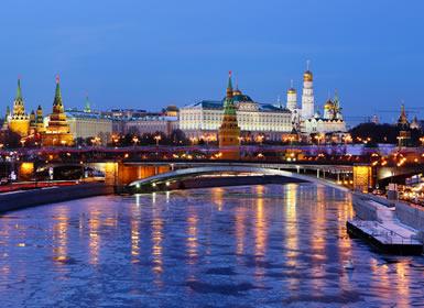 Rusia: Crucero de Moscú a San Petersburgo A Fondo