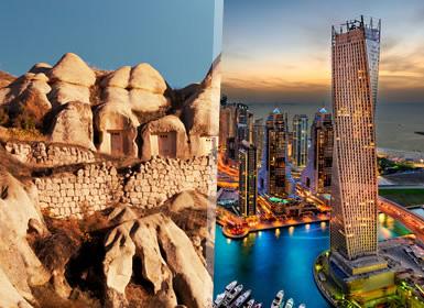 Estambul, Capadocia y Dubai