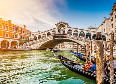 Italia: Roma, Florencia y Venecia Esencial A Tu Aire en tren