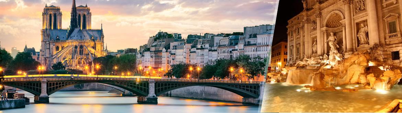 Roma y París Al Completo