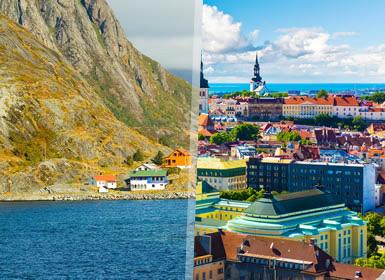 Norte de Europa: Escandinavia y Bálticos