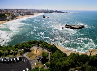 Circuitos por España en Avión: Sur de Europa: De Biarritz hasta Oñate con Bergara y Mondragón