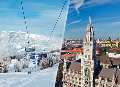 Viajes Semana Blanca 2016 Esquí en Garmisch-Partenkirchen y Múnich Esencial