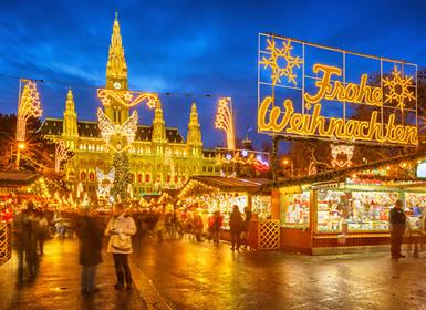 Centroeuropa: Especial Puente Diciembre Mercadillos de Navidad en Viena y Bratislava
