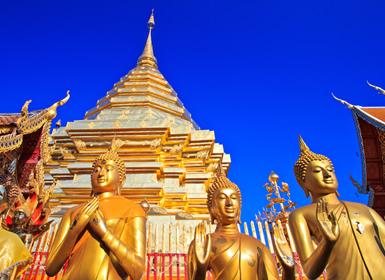 Viajes Playas de Tailandia 2017: Circuito Tailandia al Completo Bangkok, Chiang Rai, Chiang Mai y Playas de Phuket