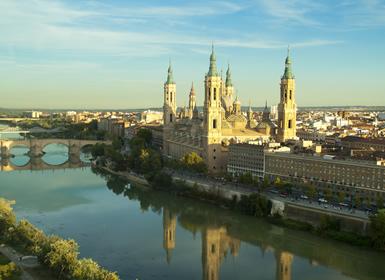 Zaragoza Reino de Aragón en tren