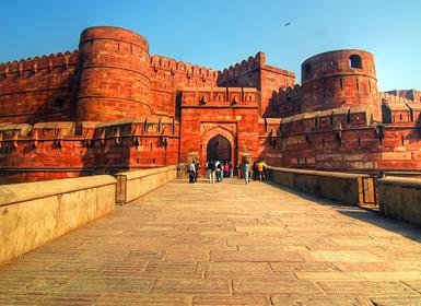 India: Delhi, Jaipur y Agra Media Pensión