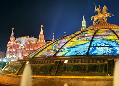 Especial Semana Santa Moscú y San Petersburgo Al Completo Plus (Tren nocturno)