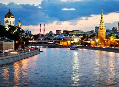 Especial Semana Santa Moscú y San Petersburgo Al Completo (Tren nocturno)
