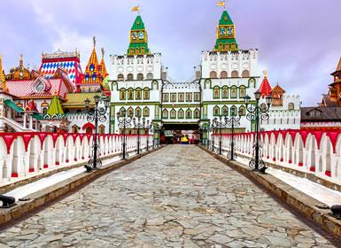 Especial Semana Santa Moscú y San Petersburgo Al Completo (Tren diurno)
