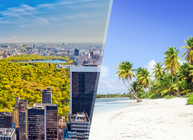 Combinados Usa 2016 Nueva York y Punta Cana Esencial A Tu Aire