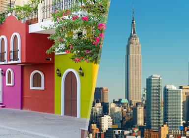EEUU y México: Nueva York y Puerto Vallarta