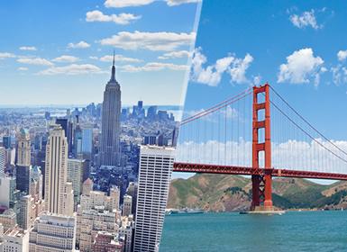 Viajes Costa Este EEUU, Costa Oeste EEUU y EE.UU. 2017: Nueva York y San Francisco, Grandes capitales de Estados Unidos