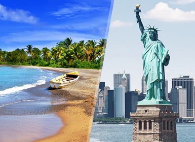 Nueva York y Jamaica Esencial A Tu Aire