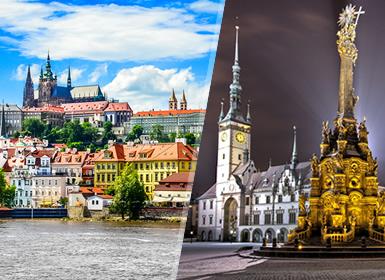 Viajes Semana Blanca 2017 Praga y Olomouc Esencial  en tren
