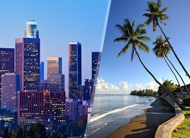 Los Ángeles y Papeete Esencial A Tu Aire