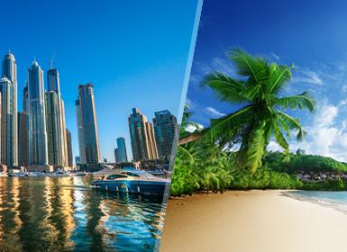 Combinados África Dubái y Seychelles Esencial A Tu Aire