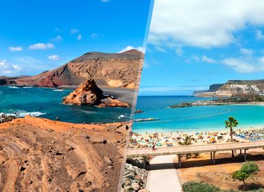 Circuitos por España en Avión: Islas Canarias: Lanzarote y Gran Canaria