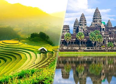 Combinado: De Sapa a Siem Reap
