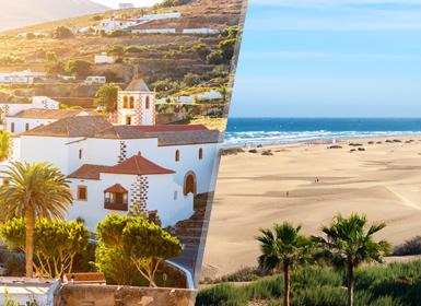 Circuitos por España en Avión: Islas Canarias: Fuerteventura y Gran Canaria