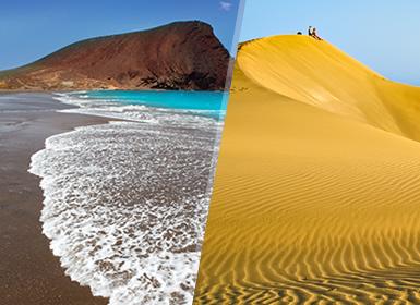 Circuitos por España en Avión: Islas Canarias: Gran Canaria y Tenerife