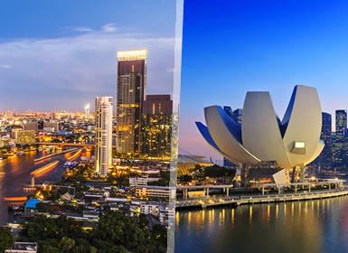 Viajes Tailandia, Singapur 2017: Viaje Bangkok y Singapur flexible a tu aire