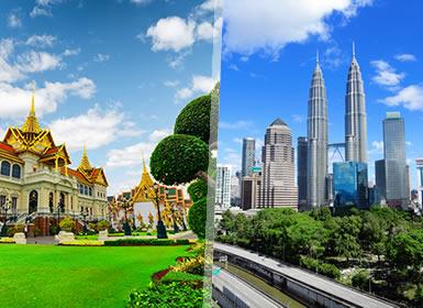 Combinado: Bangkok y Kuala Lumpur