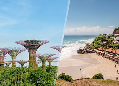 Combinado: Singapur y Bali