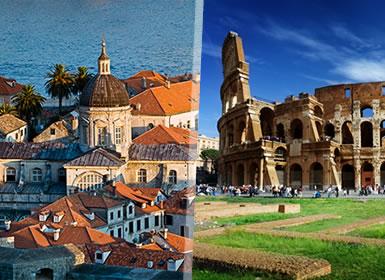 Viajes Adriático, Croacia, Eslovenia, Italia 2017: Ciircuito Costa Croata, Eslovenia e Italia