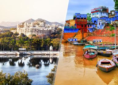India: Rajasthán y Benarés