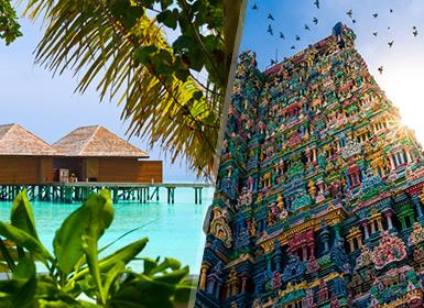 Grandes Viajes de Novios 2017 India e Islas del Índico: Sur de India y Maldivas