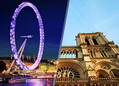 Viajes Francia, Inglaterra 2017: París y Londres en tren