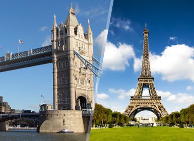 Viajes por Europa combinados París y Londres Esencial A Tu Aire en avión