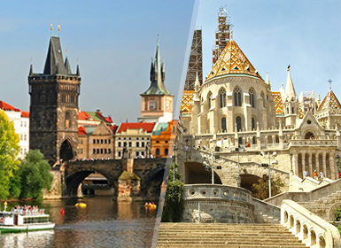 Viajes Europa Hungría, República Checa, Centroeuropa 2017: Praga y Budapest en avión