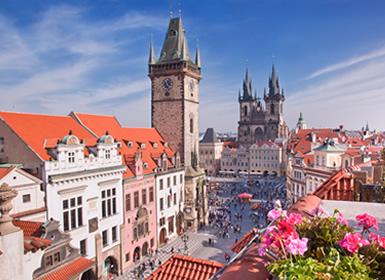 República Checa: Praga y Marianske Lazne