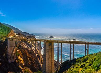 Viajes Costa Oeste Usa 2017: Costa de California con Santa Bárbara, San Luis Obispo y Monterey