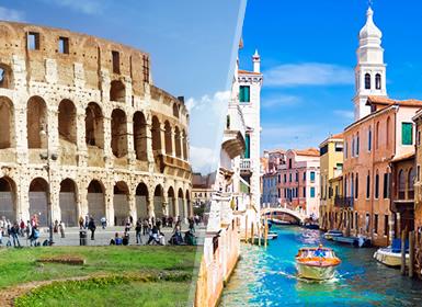 Viajes organizados Italia: Roma, Florencia con Museo Ferrari, Venecia y Milán
