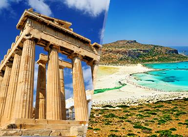 Circuitos Grecia 2017: Combinado Atenas y la Isla de Creta en avión